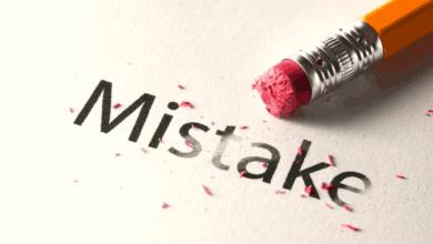 अपनी ग़लती से सीखें