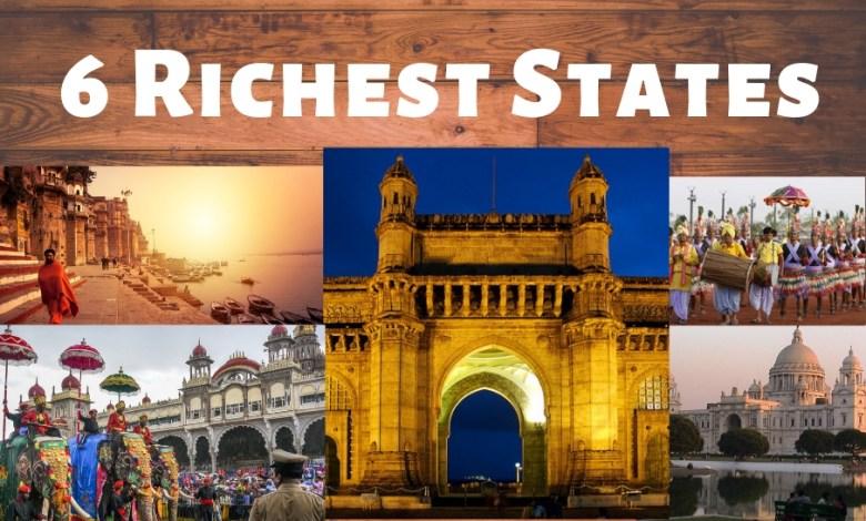 6 Richest States