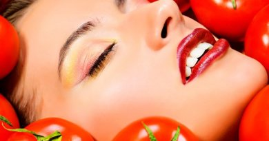 hair treatment with tomato