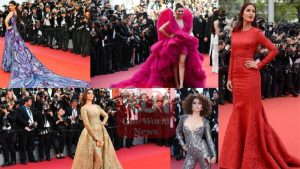 bollywood actress in red carpet