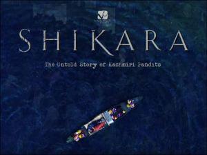 Shikara a love latter from kashmir