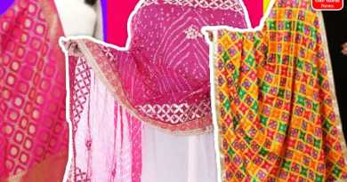 Types of dupattas