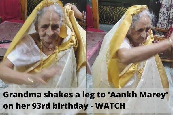 93 year old grandma dance