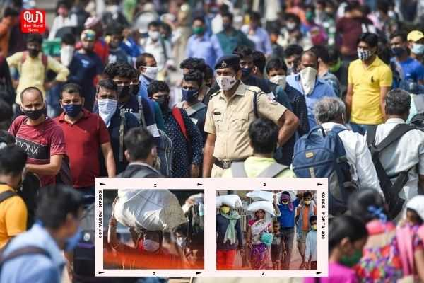 Migrant labour started leaving Delhi because of lockdown
