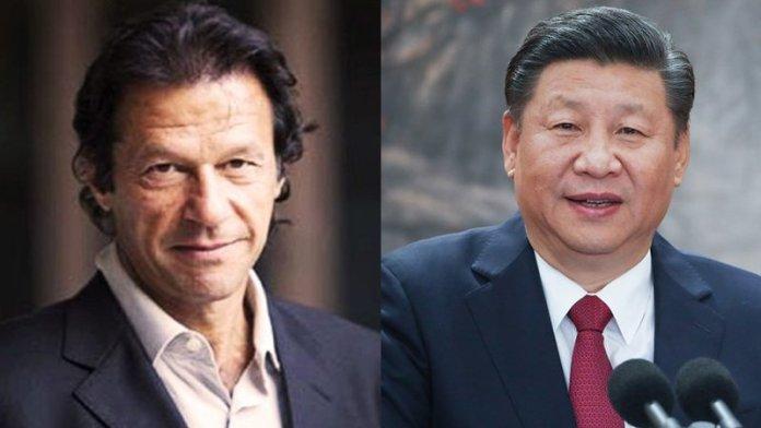 इमरान खान और सी जिनपिंग
