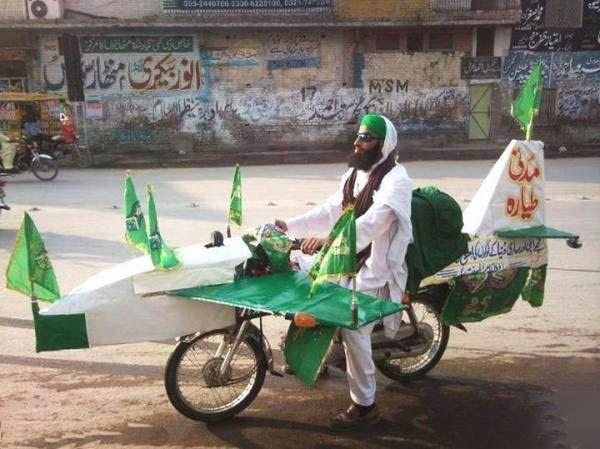 पाकिस्तान एयर फ़ोर्स का मजाक उड़ाती एक तस्वीर