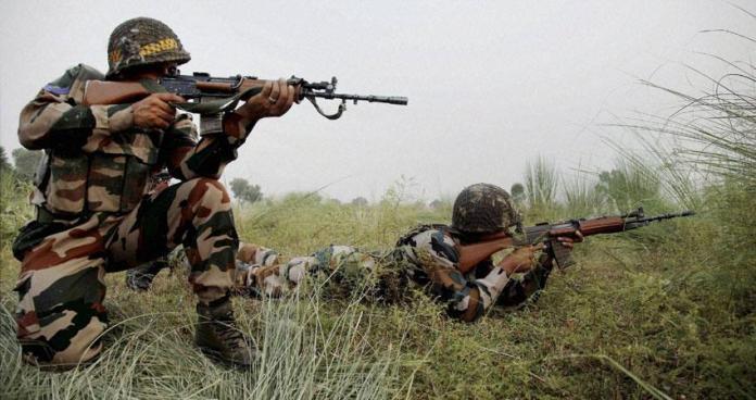 जम्मू-कश्मीर में आतंकवादी हुआ ढेर
