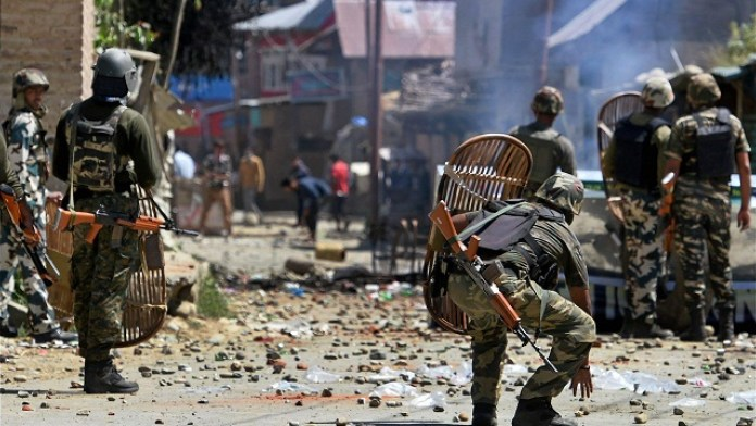 कश्मीर शोपियाँ 5 आतंकी ढेर