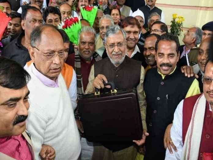 बिहार विधानसभा में उपमुख्यमंत्री सुशील मोदी ने बजट 2019-20 पेश किया।