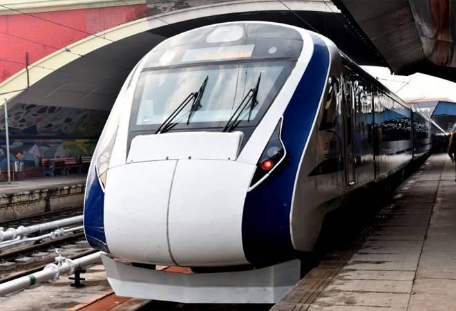 चीन वंदे भारत ट्रेन टेंडर