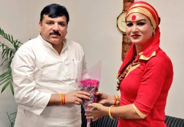 भवानी माँ AAP की ओर से लड़ेंगी चुनाव