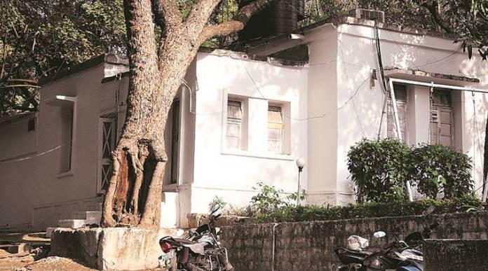 आईपीएस राजेंद्र मिश्रा का भोपाल स्थित बंगला
