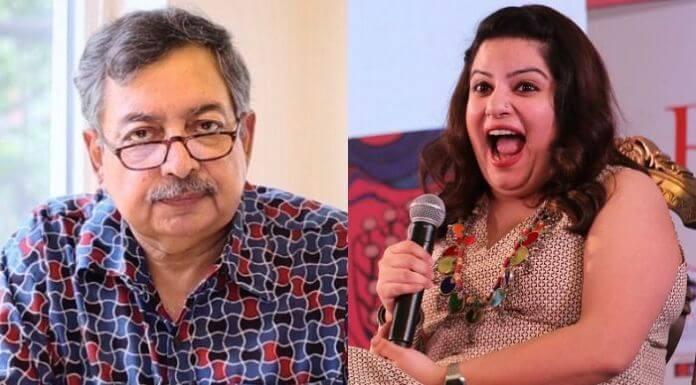 विनोद दुआ और मल्लिका दुआ