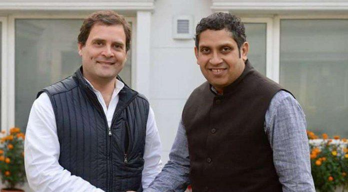 राहुल गाँधी और प्रवीण चक्रवर्ती