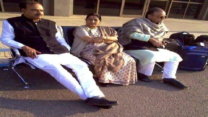 अरुण जेटली, सुषमा स्वराज, अनंत कुमार