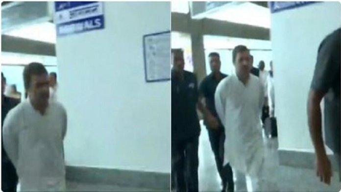राहुल गाँधी, श्रीनगर से वापस