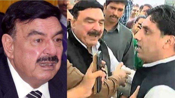 पाकिस्तान रेल मंत्री, वायरल वी़डियो