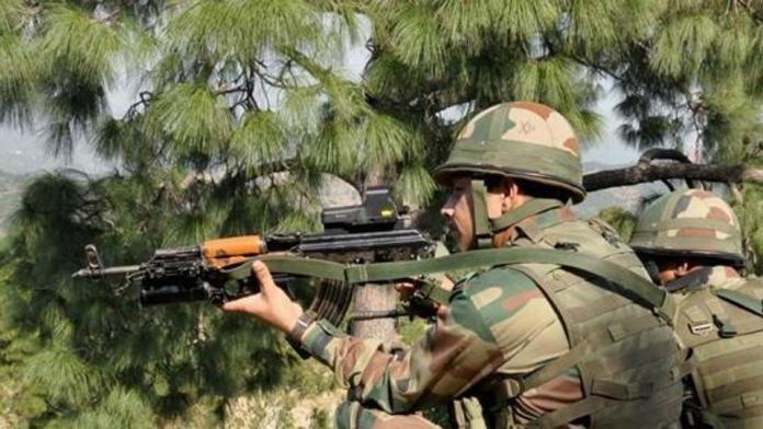 पाकिस्तानी सैनिक ढेर