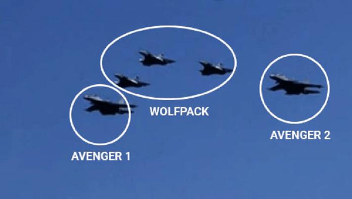पाकिस्तान को मुँह चिढ़ाता Avenger-1 (तस्वीर NDTV/दूरदर्शन से साभार)