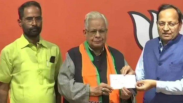 अम्मार रिज़वी, BJP में शामिल