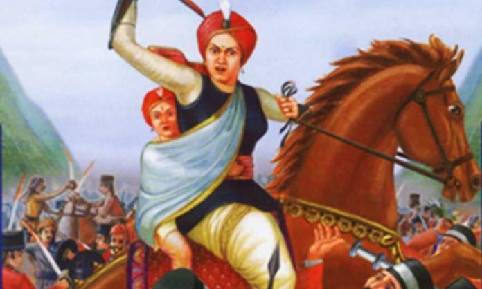 झाँसी की रानी लक्ष्मीबाई