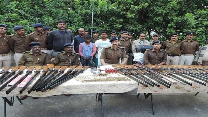 बिहार, अवैध हथियार