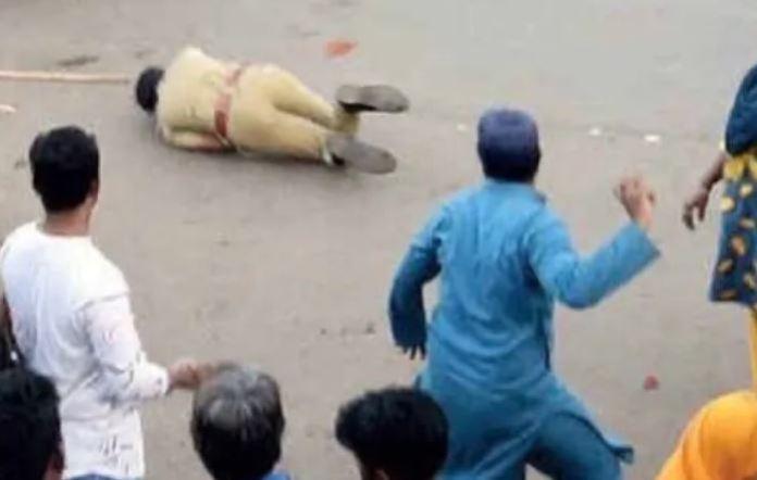 कॉन्ग्रेस पार्षद, पुलिस पर हमला