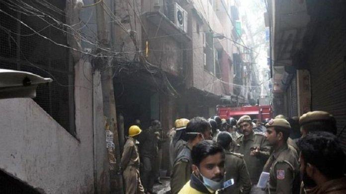 दिल्ली आग, मामला दर्ज
