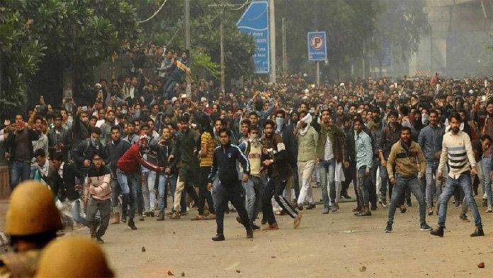 दिल्ली पुलिस, जामिया मिल्लिया इस्लामिया