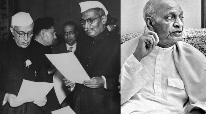 राजेंद्र प्रसाद, नेहरू, पटेल
