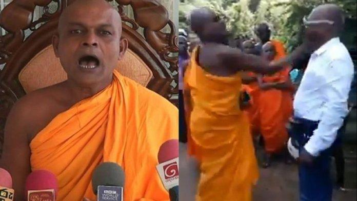 श्रीलंका बौद्ध भिक्षु, ईसाई मिशनरी