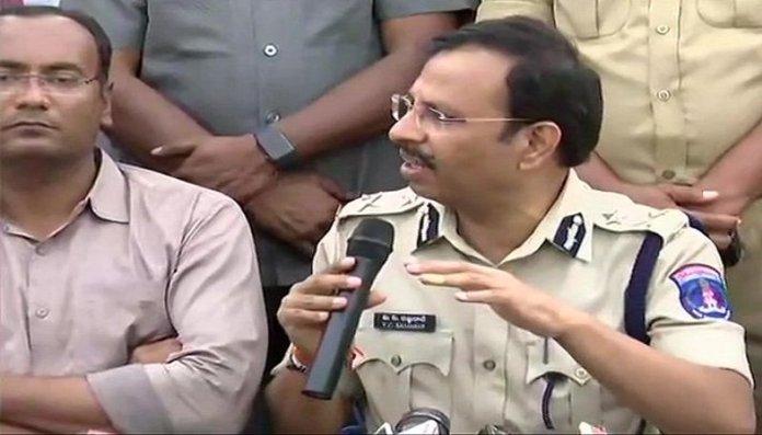 साइबराबाद के पुलिस कमिश्नर