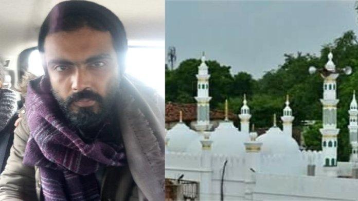 शरजील इमाम, मस्जिद