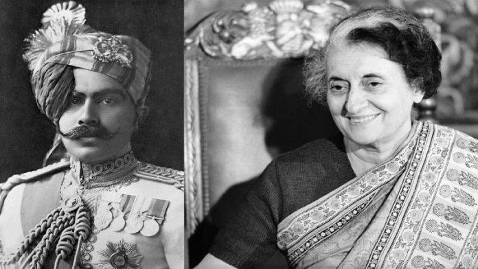 राजा गंगा सिंह, इंदिरा गाँधी नहर