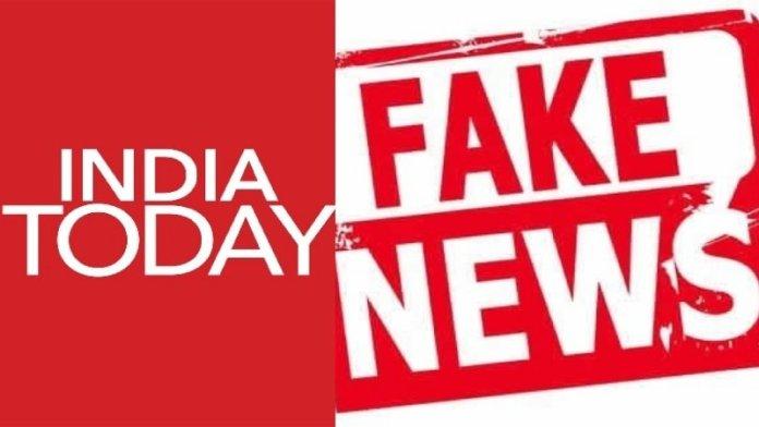 इंडिया टुडे, फेक न्यूज़