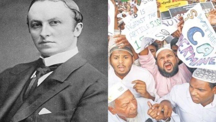 लॉर्ड कर्जन, मुस्लिम