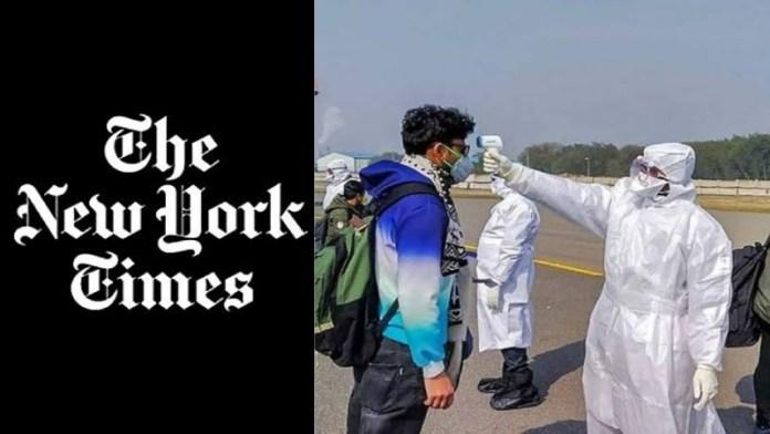 कोरोना वायरस, न्यूयॉर्क टाइम्स
