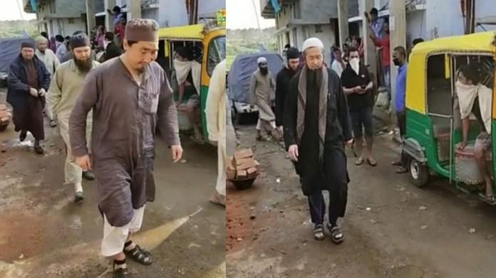 पटना मस्जिद विदेशी मुसलमान