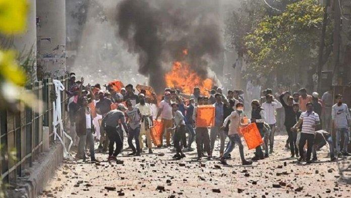 दिल्ली दंगा, एसिड अटैक