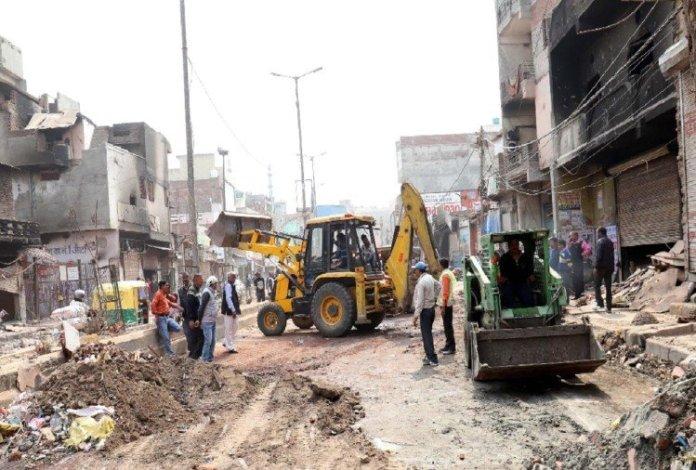 दिल्ली हिंदू विरोधी दंगा