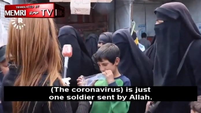 आईएसआईएस महिलाएँ, कोरोना वायरस