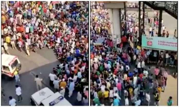 मुंबई, मजदूर, कोरोना