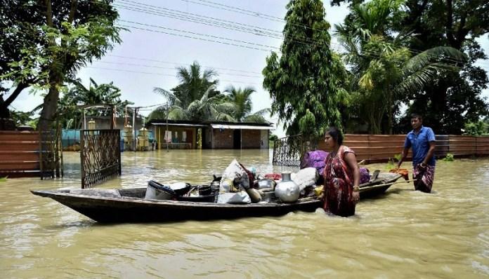 असम बाढ़ अमित शाह