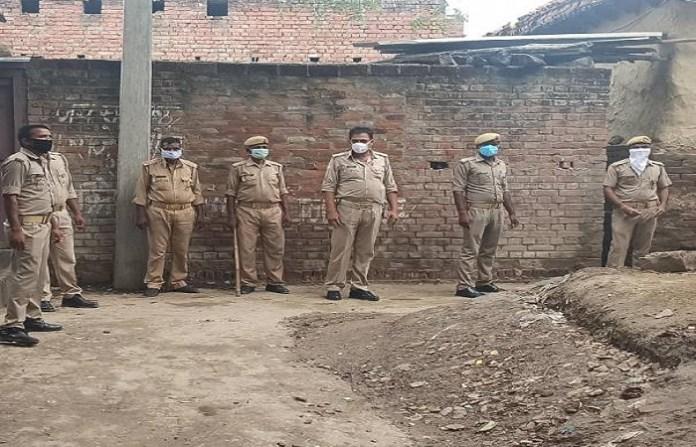 उत्तरप्रदेश, इलिया, 7 साल की बच्ची, रेप का प्रयास, पुलिस बल तैनात