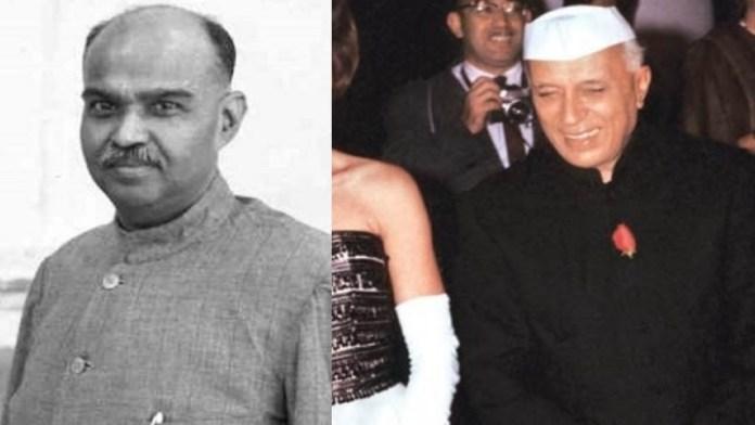 श्यामा प्रसाद मुखर्जी नेहरू