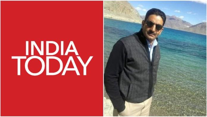 इंडिया टुडे के पत्रकार का फ़र्ज़ी नैरेटिव