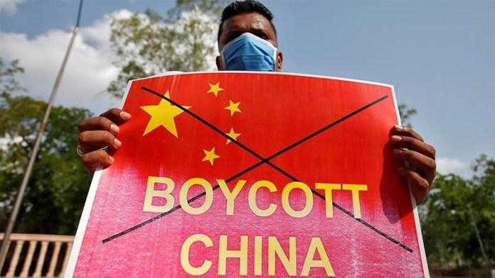 भारत, चीनी कंपनियों