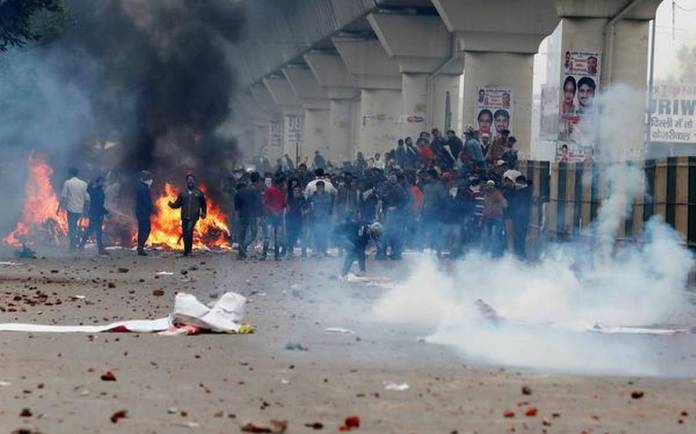 दिल्ली दंगा फ