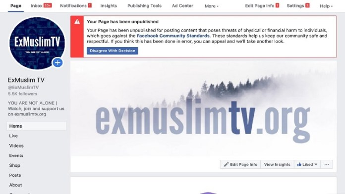 Ex Muslim Tv फेसबुक