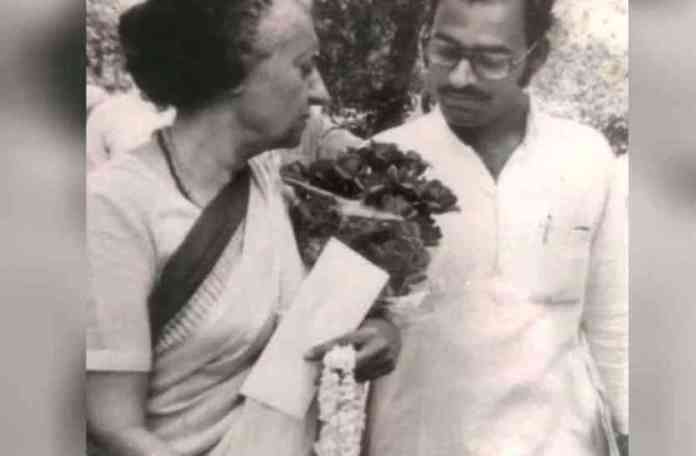 देवेंद्र पांडे-इंदिरा गाँधी